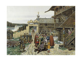 Court of a Feudal Russian Prince, 1908 Giclee Print by Appolinari Mikhaylovich Vasnetsov