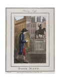 Door Mats, Cries of London, 1804 Giclee Print by William Marshall Craig