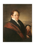 Portrait of the Writer Stepan Dmitrievich Nechaev (1792-186), 1830 Giclee Print by Vasili Andreyevich Tropinin