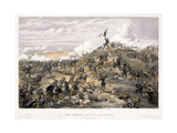 Attack on the Malakoff Redoubt on 7 September 1855, 1855 Giclee Print by William Simpson