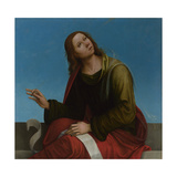 Saint John the Evangelist (High Altarpiece, Oratory of S. Pietro in Vincol), 1505 Giclee Print by Lorenzo Costa