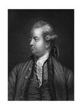 Edward Gibbon, British Historian, 19th Century Giclee Print by Joshua Reynolds