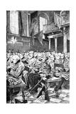 The Last Muster, 1875 (C1880-188) Giclée-Druck von Hubert von Herkomer