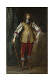 Portrait of Prince Rupert of the Rhine (1619-168), Duke of Cumberland, Ca 1637 Giclée-Druck von Sir Anthony Van Dyck