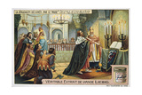 La Jerusalem Deliveree Par Le Tasse, Thanksgiving Service in the Church of the Holy Sepulchre Giclee Print