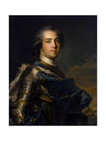 Portrait of the King Louis XV, (1710-177), 1745 Giclee Print by Jean-Marc Nattier