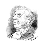 Puzzle Head Depicting British Politician George Joachim Goschen, from Punch, 1899 Giclee Print by Harry Furniss