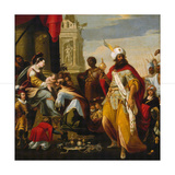 The Adoration of the Magi, before 1624 Giclee Print by Georges Lallemand