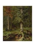 Juli Julievich Klever - Little Red Riding Hood, 1887 - Giclee Baskı