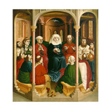 The Descent of the Holy Spirit (Pentecos), the Wings of the Wurzach Altar, 1437 Giclee Print