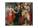 The Flight of Lot and His Family from Sodom (After Ruben), C. 1618 Giclee Print by Jacob Jordaens