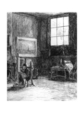 The Studio (Nort), C1880-1882 Giclee Print by Jozef Israels
