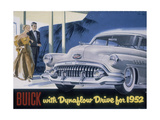 Poster Advertising a Buick, 1952 Giclee Print