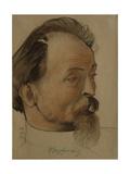 Portrait of the Politician Felix E. Dzerzhinsky (1877-192), the Chairman of Cheka, 1922 Giclee Print by Nikolai Andreevich Andreev