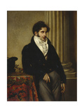 Portrait of Count Sergey Semionovich Uvarov (1786-185), 1815-1816 Giclee Print by Orest Adamovich Kiprensky