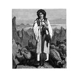 Albanian Shepherdess, C1890 Giclee Print