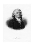 Honore-Gabriel De Riquetti, Comte De Mirabeau, French Writer, Popular Orator and Statesman, 1845 Giclee Print by  Freeman