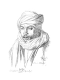 Study of an Egyptian Man, 1895 Giclee Print by Jean-Leon Gerome