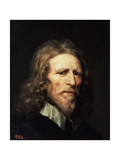 Portrait of Abraham Van Der Doort, before 1640 Giclee Print by William Dobson