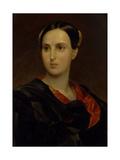 Portrait of Countess Olga Pavlovna Fersen (Stroganov) (1808-183), C. 1837 Giclee Print by Karl Pavlovich Briullov