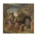 Epiphany (Trittico Degli Uffizi (Uffizi Tryptic), Central Panel), Ca 1463-1464 Giclee Print by Andrea Mantegna