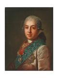 Portrait of Count Mikhail Mikhaylovich Golitsyn (1731-180), 1774 Giclee Print by Fyodor Stepanovich Rokotov