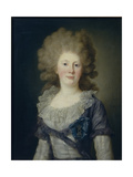 Portrait of Countess Sofia Vladimirovna Panina (1774-184), 1791 Giclee Print by Jean Louis Voille