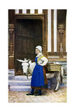 A Woman of Normandy, France, C1922 Giclee Print