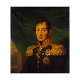 Portrait of Nikolai Alexeyevich Tuchkov (1765-181), before 1825 Giclee Print by George Dawe