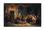 Jesters at the Court of Empress Anna Ioannovna, 1872 Giclee Print by Valery Ivanovich Jacobi