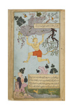 Illustration from the Ramayana by Valmiki, Second Half of The16th C Giclee Print by Mir Zayn al-Abidin