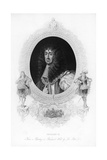 King Charles II, the Merry Monarch Giclee Print by Peter Lely
