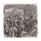 Queen Victoria Opening Blackfriars Bridge, London, 1869 Giclee Print