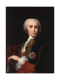 Portrait of the Singer Farinelli (Carlo Brosch) (1705-178) Giclée-tryk af Jacopo Amigoni