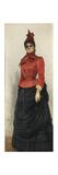 Portrait of Baroness Varvara Ikskul Von Hildenbandt (1850-192), 1889 Giclee Print by Ilya Yefimovich Repin