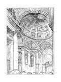 St Stephen's Walbrook, 1899 Giclee Print by Reginald Blomfield