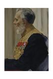 Portrait of Count Constantin Ivanovich Von Der Pahlen, 1903 Giclee Print by Ilya Yefimovich Repin
