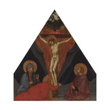 The Crucifixion with the Virgin, Mary Magdalene and St. John the Evangelist, Ca 1400 Giclee Print by Andrea di Bartolo