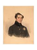 Portrait of Prince Alexander Fyodorovich Golitsyn (1796-186), 1838 Giclee Print by Pyotr Fyodorovich Sokolov