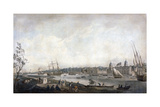 Greenwich Hospital from the Isle of Dogs, London, C1792 Giclee Print by Robert Dodd