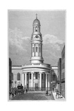St Mary's Church, Bryanston Square, Marylebone, London, C1825 Giclee Print by Thomas Hosmer Shepherd