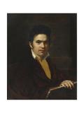 Portrait of Alexander Khristoforovich Vostokov (1781-186), before 1816 Giclee Print by Orest Adamovich Kiprensky