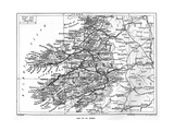 Map of County Kerry, Ireland, 1924-1926 Giclee Print