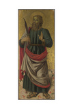 Saint Bartholomew (From Altarpiece: the Virgin and Child with Saint), Ca 1475 Giclee Print by Bartolomeo Caporali