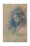 Portrait of Maximilian Von Messmacher, 1896 Giclee Print by Ilya Yefimovich Repin