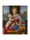 The Madonna and Child with the Infant Baptist (The Garvagh Madonn), Ca 1509-1510 Giclee Print by  Raphael