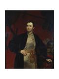Portrait of Prince Mikhail Andreyevich Obolensky (1805-187), 1846 Giclee Print by Karl Pavlovich Briullov