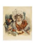 Portrait of Natalia Kirillovna Zagryazyskaya Née Razumovskaya, 1821 Giclee Print by Pyotr Fyodorovich Sokolov