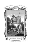 Moses with the Rod, and Ten Commandments, C1808 Giclee Print