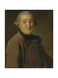 Portrait of Count Ivan Grigoryevich Orlov (1738-179), Between 1762 and 1765 Giclee Print by Fyodor Stepanovich Rokotov